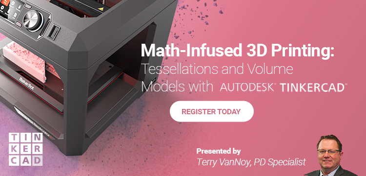 ISTE Session: Math-Infused 3D Printing